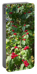 Cascading Berries Portable Battery Charger