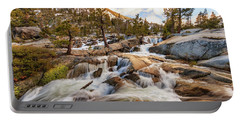 Cascading Creek Of Spring Mountain Waterfalls Portable Battery Charger