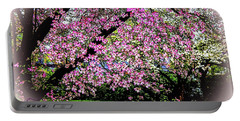 Cascading Dogwood Copyright Mary Lee Parker 17, Portable Battery Charger by MaryLee Parker