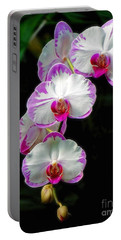Cascading Orchid Beauties Portable Battery Charger