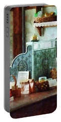 Portable Battery Charger featuring the photograph Cash Register In General Store by Susan Savad