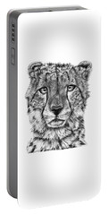 Cassandra The Cheetah Portable Battery Charger