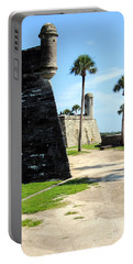 Castillo De San Marcos St Augustine Florida Portable Battery Charger by Bill Holkham