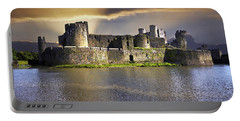 Castle At Dawn Portable Battery Charger