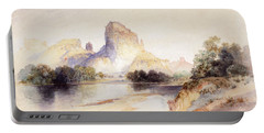 Castle Butte, Green River, Wyoming Portable Battery Charger