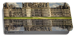Portable Battery Charger featuring the photograph Castle Chambord by Heiko Koehrer-Wagner