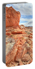 Castle High Above Wash 5 In Valley Of Fire Portable Battery Charger