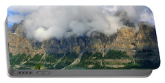 Castle Mountain Portable Battery Charger by Elfriede Fulda
