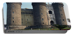 Castle Nuovo Naples Italy Portable Battery Charger