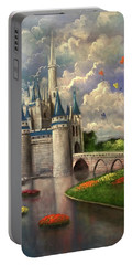 Castle Of Dreams Portable Battery Charger