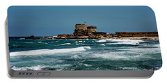 Portable Battery Charger featuring the photograph Castle Of Herod The Great by Mae Wertz