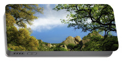 Castle Rock Portable Battery Charger by Donna Blackhall