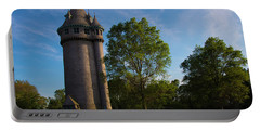 Castle Turret On The Green Portable Battery Charger