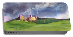 Castle Under Clouds Portable Battery Charger