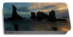 Portable Battery Charger featuring the photograph Castles In The Sand by Mike Dawson