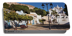 Portable Battery Charger featuring the photograph Castro Marim - Algarve, Portugal by Barry O Carroll