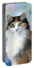 Cat 572 Calico Portable Battery Charger