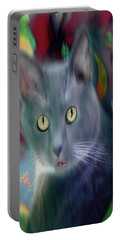 Cat Boticas Portrait 3 Portable Battery Charger
