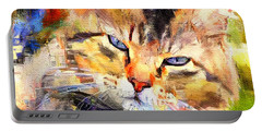 Cat Color Portable Battery Charger