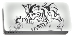 Cat- Cute Kitty  Portable Battery Charger