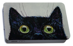 Cat Eyes Portable Battery Charger by Michael Creese