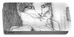 Domestic Cat Portable Battery Charger