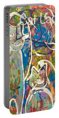 Cat Lady Portable Battery Charger