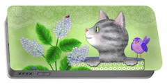 Cat Love Portable Battery Charger