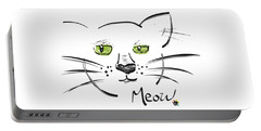 Cat Meow Portable Battery Charger