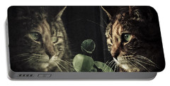 Cat Reflecting Portable Battery Charger