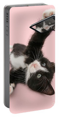 Cat Selfie Portable Battery Charger
