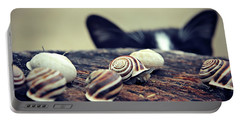 Cat Snails Portable Battery Charger
