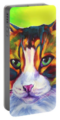 Cat - Tabby Portable Battery Charger