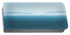 Catalina Island Large Panoramic Color Fine Art Print On Metal Portable Battery Charger by Ben and Raisa Gertsberg