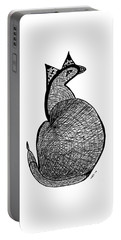 Catbird Abstract Rd101 Portable Battery Charger by Susan Dimitrakopoulos