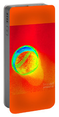 Heat Map Baseball Catch Me If You Can Portable Battery Charger