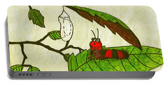 Caterpillar Whimsy Portable Battery Charger by Wendy McKennon