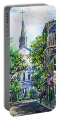 Cathedral At Orleans Portable Battery Charger
