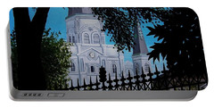 Cathedral At The Square Portable Battery Charger
