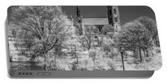 Portable Battery Charger featuring the photograph Cathedral Basilica Of The Sacred Heart Ir by Susan Candelario