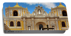 Cathedral In Antigua, Guatemala Portable Battery Charger