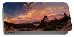 Cathedral Lookout Sunset Luminosity Portable Battery Charger