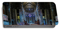 Portable Battery Charger featuring the photograph Cathedral Of Saint John The Divine by Chris Lord