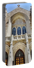 Cathedral Of St John Front Portable Battery Charger