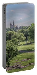 Portable Battery Charger featuring the photograph Cathedral Of St Joseph #2 by Susan Rissi Tregoning