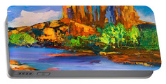 Cathedral Rock Afternoon Portable Battery Charger