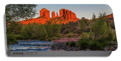Cathedral Rock At Red Rock Crossing Portable Battery Charger
