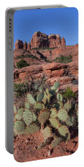 Cathedral Rock Cactus Grove Portable Battery Charger