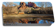 Cathedral Rock, Sedona Portable Battery Charger by Barbara Manis