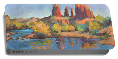 Moonrise Cathedral Rock Sedona Portable Battery Charger